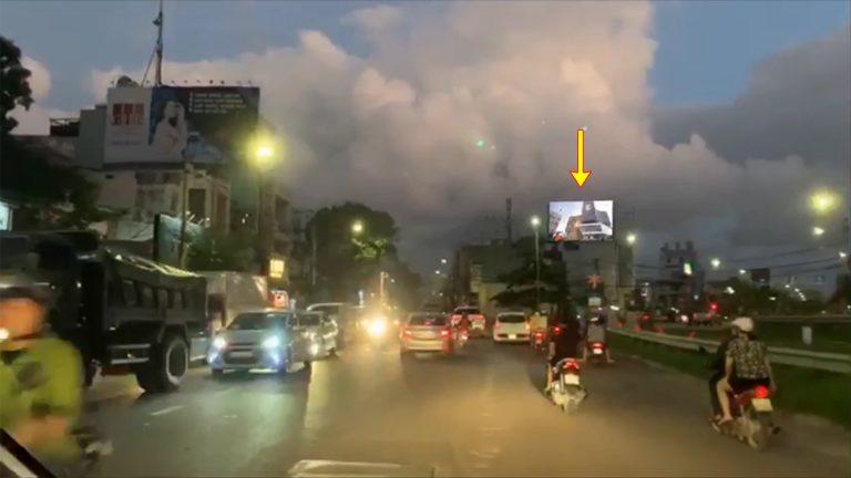 Led Outdoor Tại Đường Nguyễn Tất Thành – Phường Lê Hồng Phong – Tp. Quy Nhơn – Tỉnh Bình Định