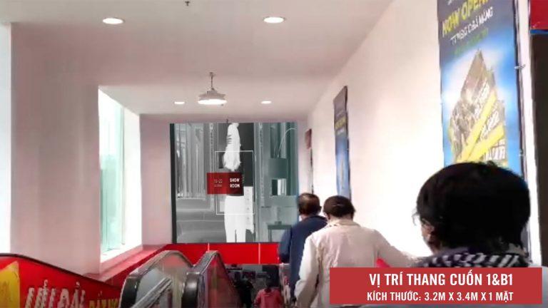Led Indoor Tại BigC Đà Nẵng – Tp. Đà Nẵng (Thang Cuốn 1&B1)