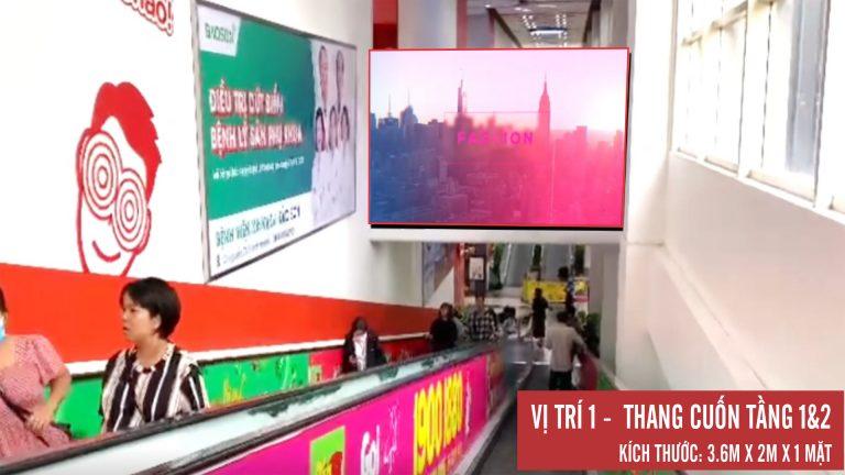 Led Indoor Tại BigC Thăng Long – Hà Nội (Thang Cuốn 1&2)