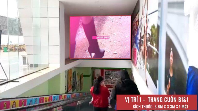 Led Indoor Tại BigC Long Biên – Hà Nội (Thang Cuốn B1&1)