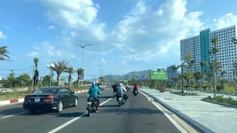 Hộp Đèn Tại Đường Võ Nguyên Giáp – Tp. Quy Nhơn – Tỉnh Bình Định (Đoạn Cầu Hà Thanh 1 Đến Đường D1; 60 Hộp)