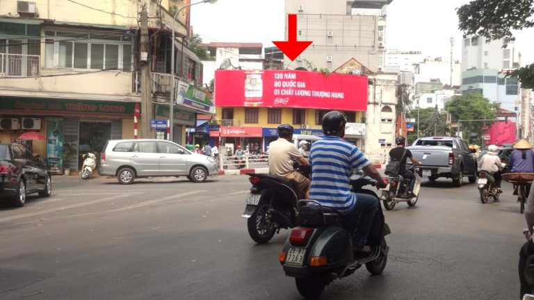 Pano Ốp Tường Tại Ngã 7 Cửa Nam + Phan Bội Châu + Nguyễn Thái Học – Quận Hoàn Kiếm – Hà Nội