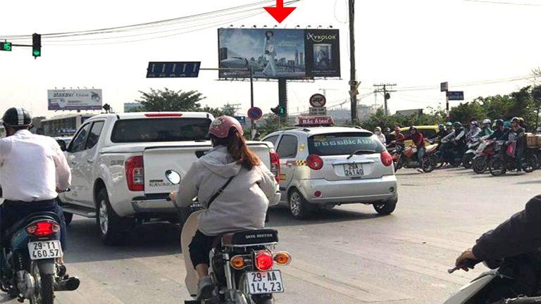 Billboard 2 Mặt Tại HM02 – Linh Đàm – Giải Phóng – Quận Hoàng Mai – Hà Nội