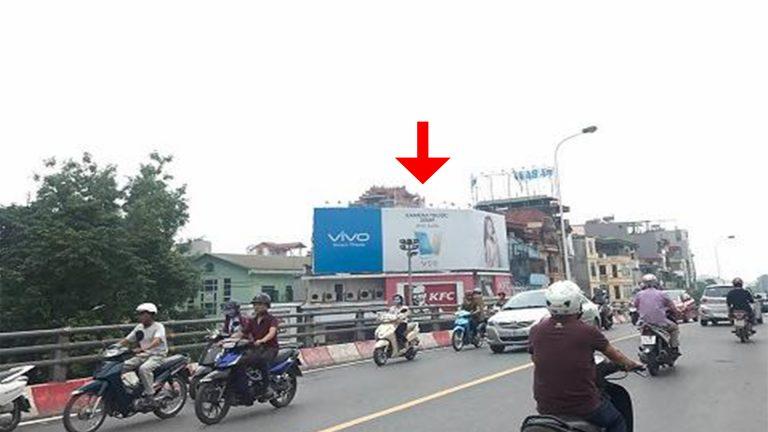 Pano Ốp Tường Tại Cầu Vượt Đại Cổ Việt – 353 Phố Huế – Quận Hai Bà Trưng – Hà Nội