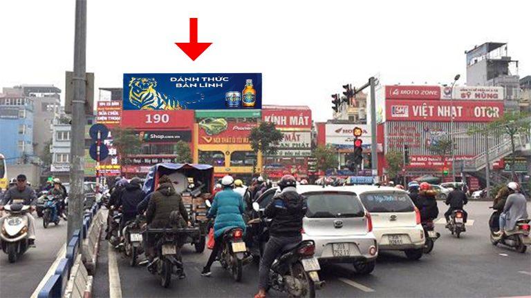 Pano Ốp Tường Tại Ngã Ba 190 Xã Đàn + Phạm Ngọc Thạch – Quận Đống Đa – Hà Nội